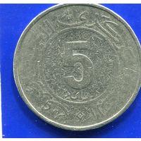 Алжир 5 динаров 1984 , 30 лет Алжирской Революции