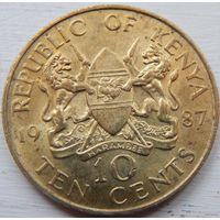 Кения 10 центов