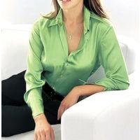 Шелковая блузка цвета лайма Gerry Weber