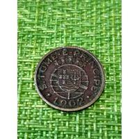Сан томе и принсипи ( колония Португалии) 20 цент 1962