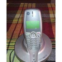Радиотелефон Thomson Telecom Модель CE 21830GE3-A б/у, Не работает экран (не отображает информацию), звонок проходит, кнопки набора нажимаются туго. Цена 7 руб.  Находиться: г. Минск, мк-н. Лошица, ул