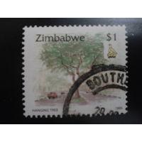 Зимбабве 1995 стандарт, дерево