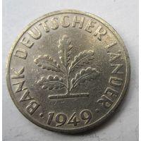 Германия. 10 пфеннигов 1949 D  .98