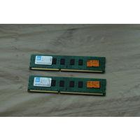 Оперативная память 2х2gb DDR3 TeamGroup