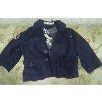 Пиджак-курточка на 12-24 мес