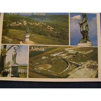 Древний галльский город-крепость Франция 2001 Алезия