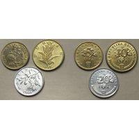 Хорватия, набор из 3 монет (нечетный год)