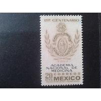 Мексика 1964 100 лет мед. академии
