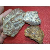 ЯНТАРЬ-. Камень Природный - 85 грамм. Балтика..// по 1уе.гр. //