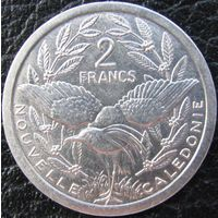 1к Новая Каледония 2 франка 1990 В ХОЛДЕРЕ распродажа коллекции
