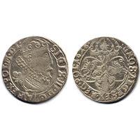 6 грошей (шостак) 1626, Сигизмунд III Ваза, Краков. Ав - герб Пулкозиц