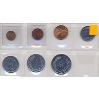 Турция комплект монет (7 шт.) 1967-1976 гг. скидки.