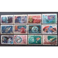 СССР-космос сборный лот 12 марочек