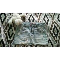 Джинсовая юбка H&M 134-146