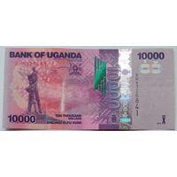 Уганда 10000 Шиллингов 2015, XF, 705