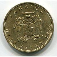 (B4) ЯМАЙКА - 1/2 ПЕННИ 1966 UNC