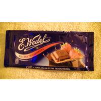 Обёртка от шоколада E.Wedel распродажа