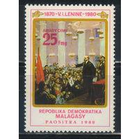 Мадагаскар Малагасийская ДР 1980 110 летие В.И.Ленина #857**