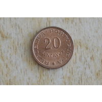 Мозамбик 20 сентаво 1974