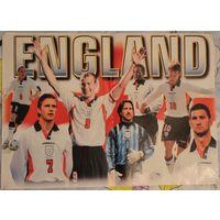 Плакат сборной England, 43,5х60,5