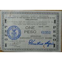 Филиппины 1 песо 1944 г. Р.S523