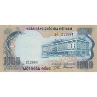 Южный Вьетнам 1000 донг 1972