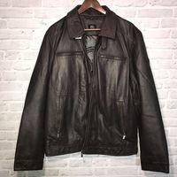 Новая кожаная куртка итальянского бренда CARLO COLUCCI