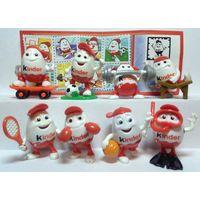 Серия игрушек из киндера Киндерино спорт