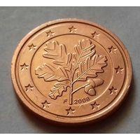 2 евроцента, Германия 2008 F, AU
