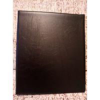 """Альбом под формат """"Оптима"""", 270*230*40 мм. Цвет черный"""