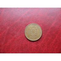 5 центов 2014 года Латвия