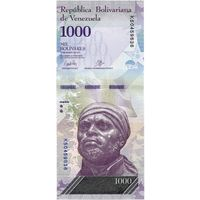 Венесуэла, 1 000 боливаров, 2017 г., UNC
