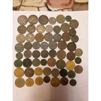 Монеты Польши и Германии 59 шт.