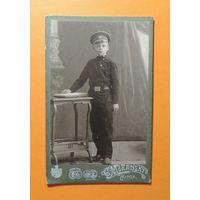 """Визит-портрет """"Гимназист"""", Минск, фот. Миранский, до 1917 г. (1912 г.)"""