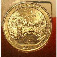 """Квотер (25 центов) 2011 США """"Рекреационная зона Чикасо"""""""