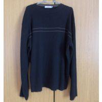 Чёрный мужской свитер на размер 54 - 56