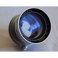 Объектив для ФЭД-Зоркий-Лейка-Canon SERENAR 1,9/50mm #46470 резьба М39х1 с НЮАНСОМ !