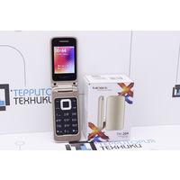 """Золотой 2.4"""" TeXet TM-204 Dual (2 SIM). Гарантия"""