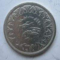Египет 2 пиастра 1942. Серебро .1Е-44