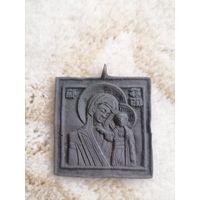 Икона нательная. Казанская Пресвятая Богородица.