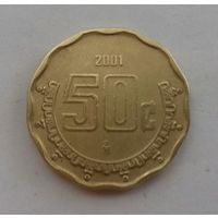 50 сентаво, Мексика 2001 г.