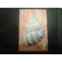 Бермуды, колония Англии 2002 ракушка