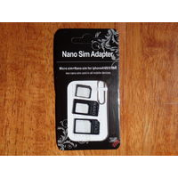 Набор адаптеров Nano-Micro-Mini