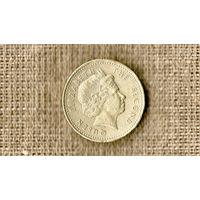 Фолклендские острова 1 фунт 2004 ///(ON)