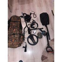 Металлоискатель Minelab X-Terra-705 наушники.пинпоинтер.лопата.рюкзак чехлы 2шт аккумулятор батареи