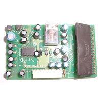 Плата (предположительно эквалайзера автомагнитолы) на THA5001F