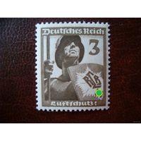 DR Mi.643 Рейх. 1937 год (mi. 3 euro) MNH
