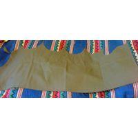 Остаток ткани военной оливкового цвета 0,9м*0,27 СССР, шерсть