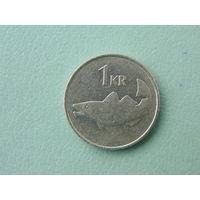Исландия, 1 крона 1984 г.