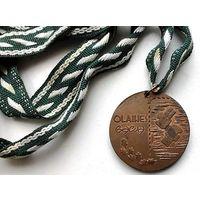 Бокс. Иностранная бронзовая медаль. д - 4 см